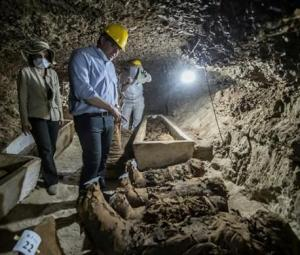 17 mummies discovered in central Egypt