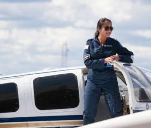 Afghan woman seeks to become youngest to make solo round-the-world flight
