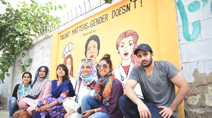 A mural of lost dreams: Students in Karachi push for transgender awareness