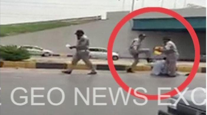 Islamabad Traffic Police suspends two officials over 'thrashing video'