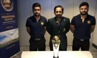 Pakistan players arrive in London ahead of Champions Trophy