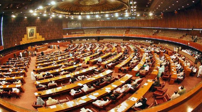 Asif calls PTI MNA 'thief', opposition stages walkout