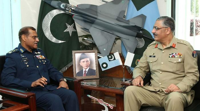 CJCSC calls on air chief, apprised of PAF modernisation programmes