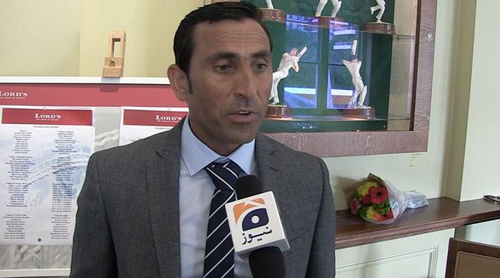 Younis Khan honoured at Lord's