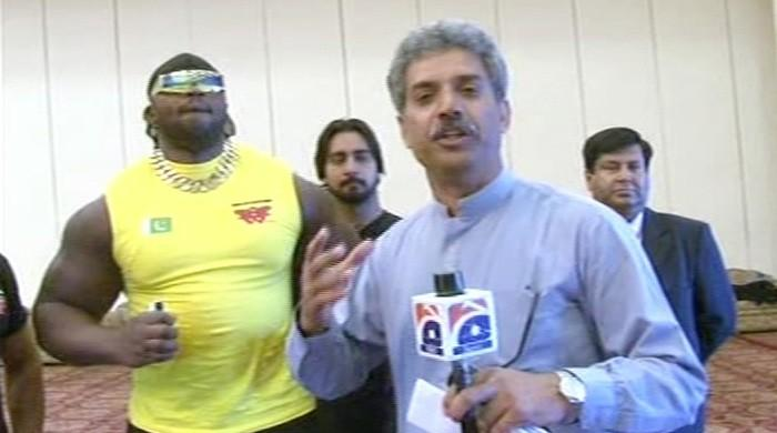 Watch: International wrestlers come to Lahore