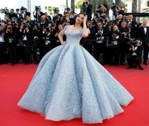 Aishwarya Rai slays spectators in a fairy tale outfit at Cannes red carpet