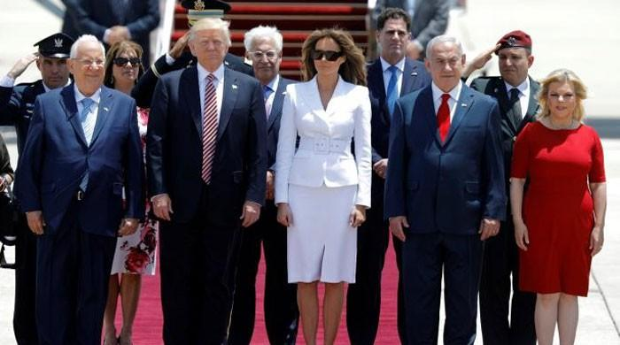 Trump in Israel, says he has new reasons to hope for Middle East peace