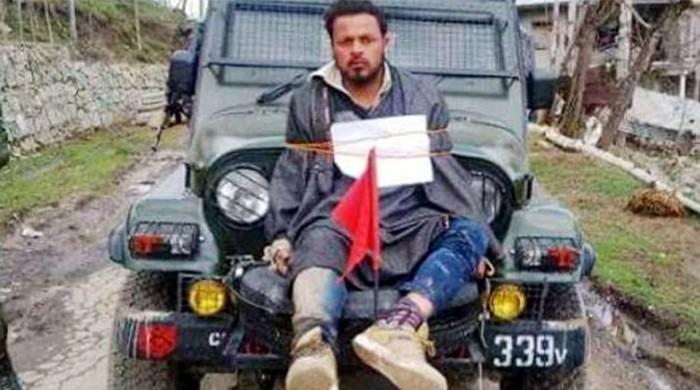 Indian army honours officer who tied Kashmiri man to jeep