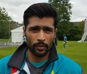 Excited Amir aims to perform well against India