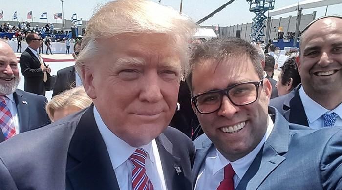 Israeli MP stokes jokes and anger with Trump selfie