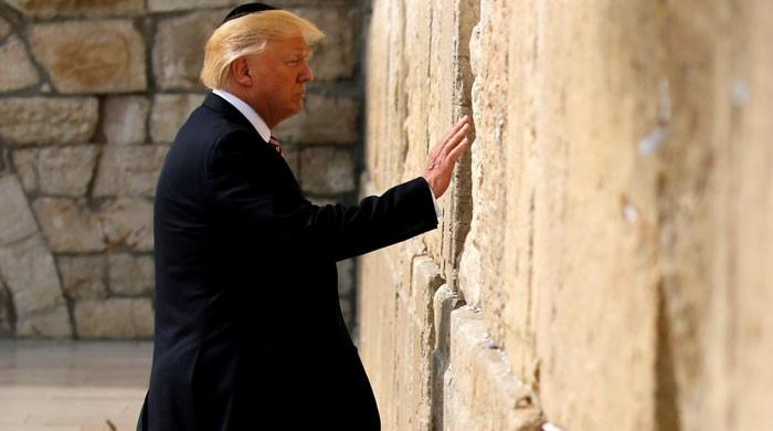 Trump heads for Bethlehem to see Palestinian leader