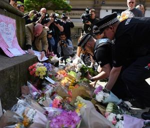 Celebrities voice horror, heartache at UK concert attack