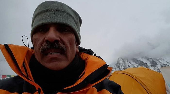 Fourth Pakistani to scale Mount Everest rescued