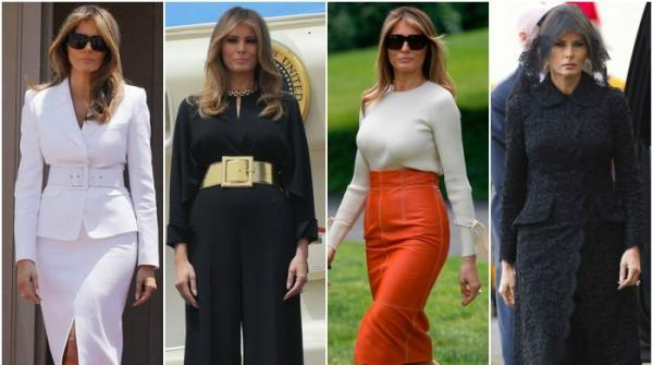 Melania's modest outfit inspires on Middle East visit