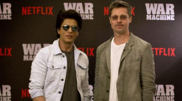 Brad Pitt to Shah Rukh Khan: 'I wouldn't make it in Bollywood, I can't dance'