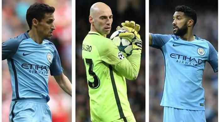Navas, Clichy, Caballero and Sagan in Manchester City exodus