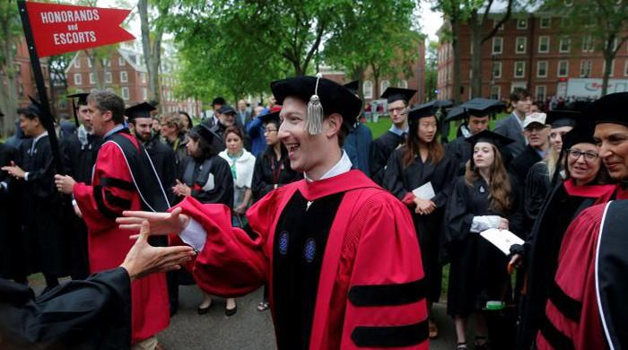 13 years after quitting, Zuckerberg gets (honorary) Harvard degree