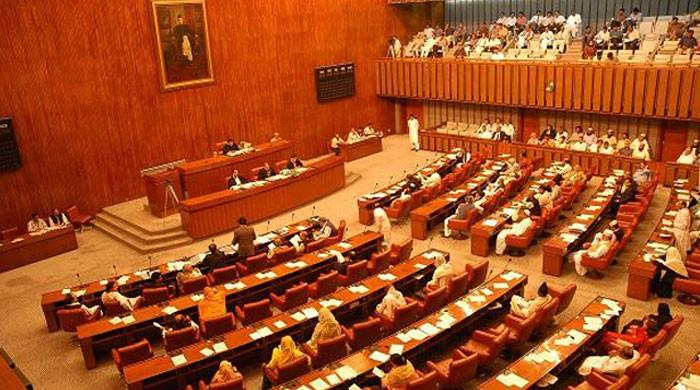 Senate opposition stages walkout over mistreatment of farmers in Islamabad