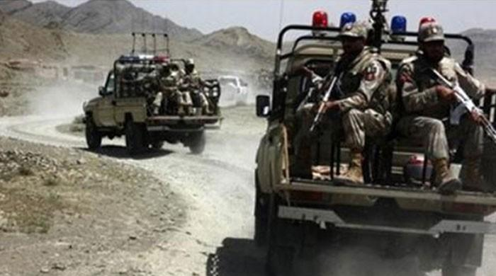 FC seizes arms caches from militant hideouts in Sui, Dera Bugti