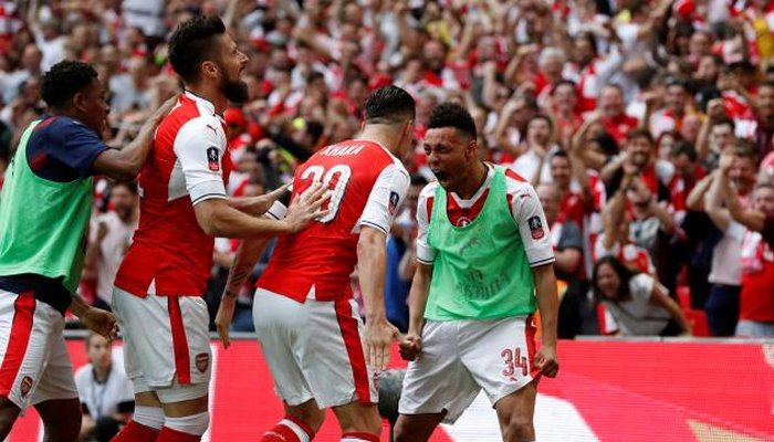 Arsenal wins the FA Cup