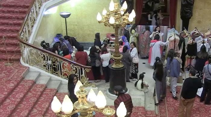 Pakistani fashion celebrated at London's Lancaster House