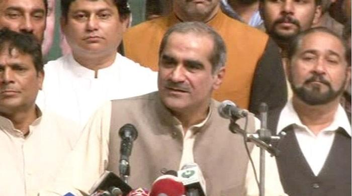 Imran Khan is playing with fire, says Khawaja Saad Rafique