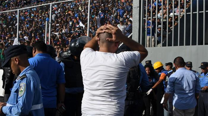 Four killed, dozens injured in stampede at Honduran soccer match
