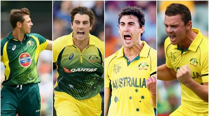 Aussies ready to let loose 'big four' pacemen at Champions Trophy