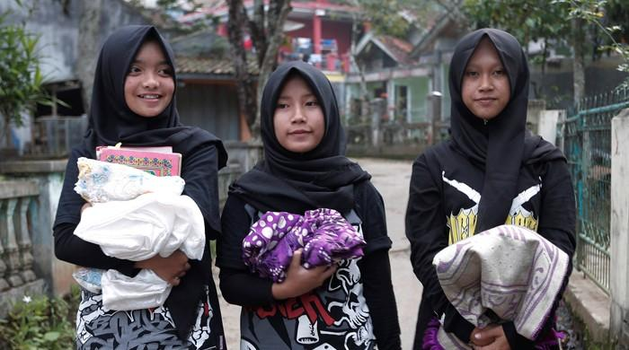 Indonesian all-girl Muslim metal band 'Voice of Baceprot' challenges stereotypes