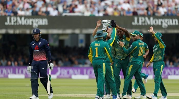 Rabada sparks England slump as Proteas win 3rd ODI