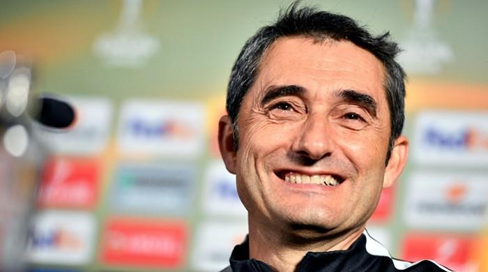 Valverde hired as new Barcelona boss