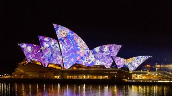 Sydney lights up with spectacular display of colour and creativity