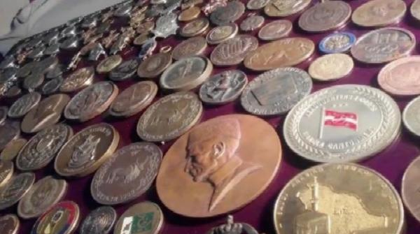This person has kept history alive with coins used hundreds of years ago