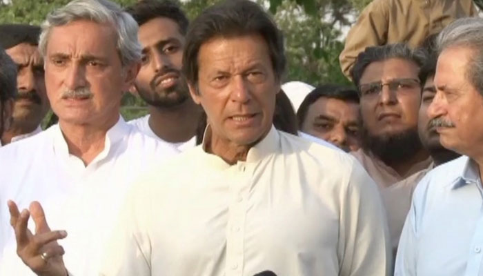 Supreme Court issues notice to Imran Khan over Bani Gala money trail