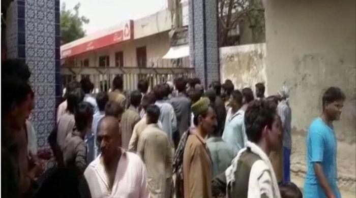 Doctors at Umerkot hospital protest medical superintendent's arrest over sewer cleaner's death
