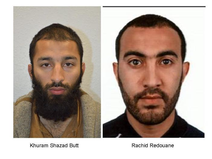 London attack suspects named by United Kingdom police