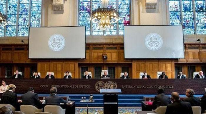 Delegations from Pakistan, India meet ICJ President