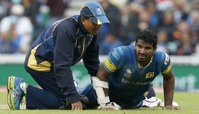 De Silva replaces injured Perera in Sri Lanka's Champions Trophy squad