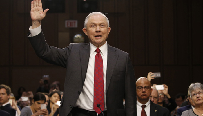 Sessions Tells Senate Little, is Accused of Impeding Probe