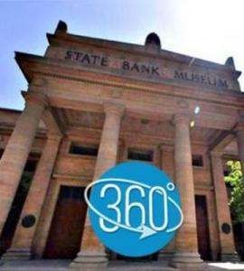 Take a virtual tour of the State Bank Museum
