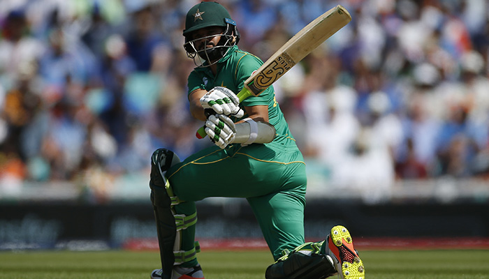 Pakistan´s Azhar Ali in action - Reuters
