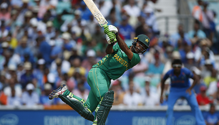 Pakistan´s Fakhar Zaman in action - Reuters