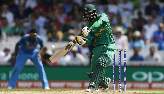 Mohammad Hafeez in action - Reuters