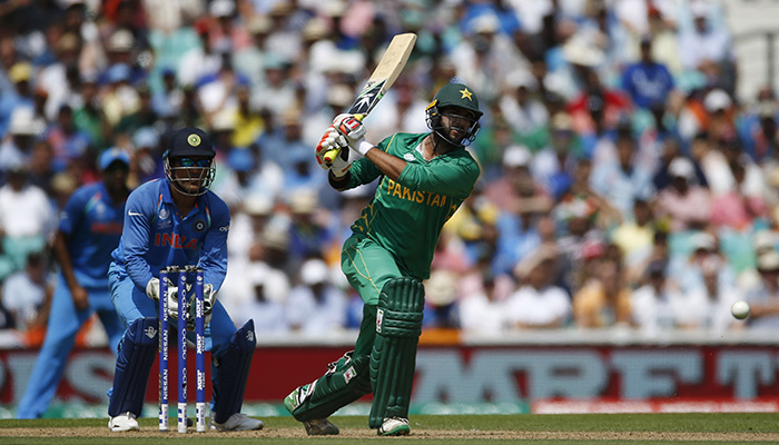 Imad Wasim in action - Reuters