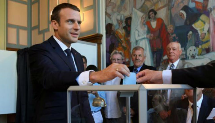 Macron wins parliamentary majority