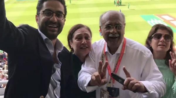 نجم سیٹھی نے بھی پاکستان کی جیت کا جشن منایا
