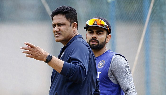 Virat Kohli opens up for the first time after Anil Kumble's resignation