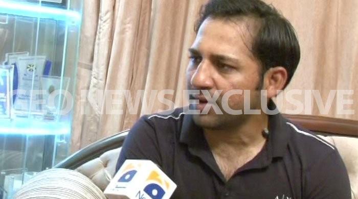 Sarfraz terms Pakistan win outcome of nation, family's prayers