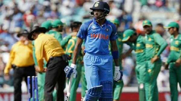 Indian cricketer Hardik Pandya got angry at Jadeja when he was run out