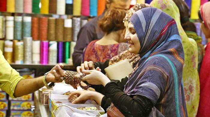 Henna, bangles and traffic jams: Eid-ul-Fitr shopping craze intensifies